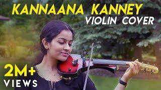 Kannaana Kanney | Violin Cover | Sruthi Balamurali | Viswasam | D. Imman