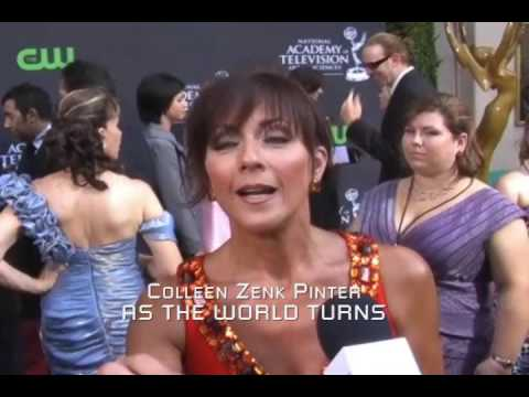WLS Daytime Emmy Red Carpet: ATWT's Colleen Zenk Pinter