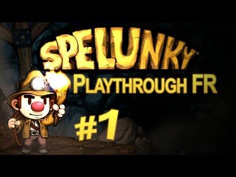 Spelunky - Episode 1 - La dure vie de Spelunky FR [HD]
