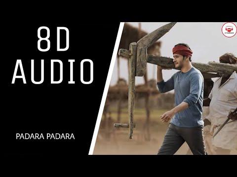 Padara Padara Song || (8D AUDIO) || Maharshi Songs || MaheshBabu || Creation3 || USE EARPHONES