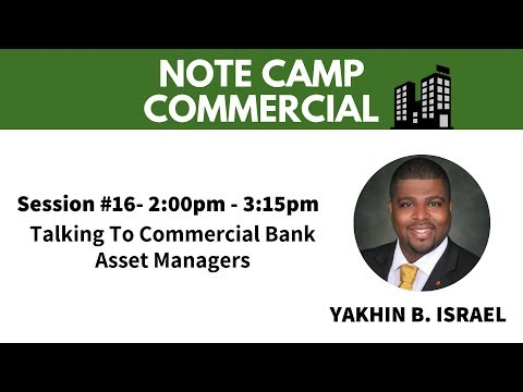Talking To Commercial Bank Asset Managers And The Current Market With Yakhin Israel