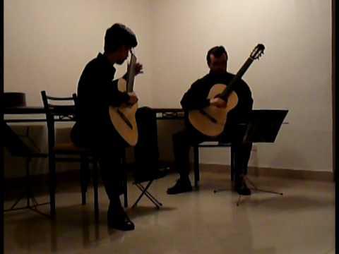 Duo Rozas-Vergara interpreta Malagueña de Isaac Al...