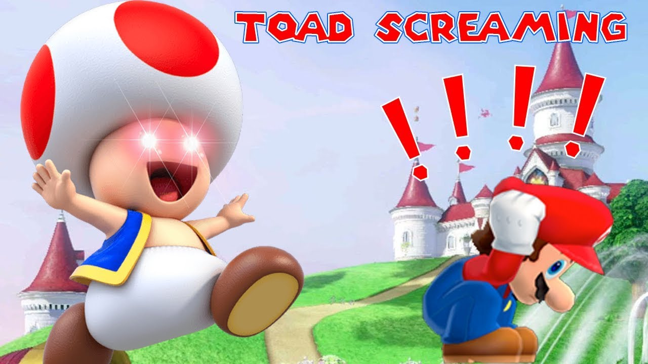Toad Screaming