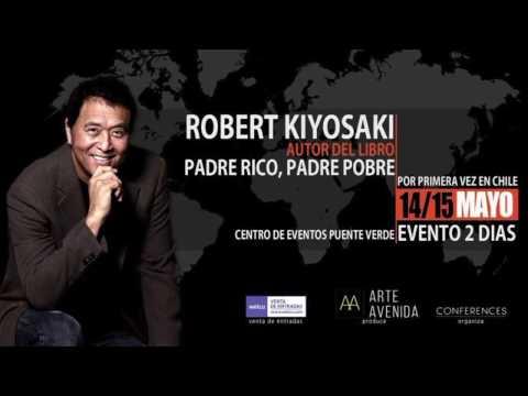 Royal Gestor oficial de su la visita de Robert Kiyosaki a Chile