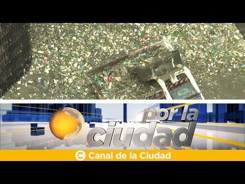Limpieza del túnel del arroyo Maldonado - Por la ciudad