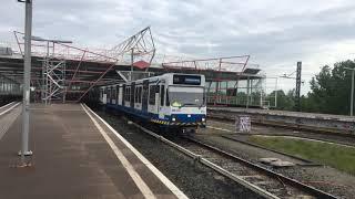 [4K] Driedubbele S1/S2 vertrekt als Metro 50 uit Station Duivendrecht!