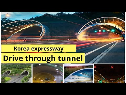 South Korea express way... tunnel