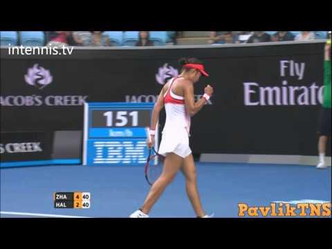 Simona Halep vs Shuai Zhang Highlights ᴴᴰ Australian Open 2016