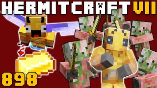 Hermitcraft VII 898 Who Got A Golden Ticket?
