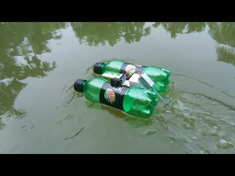 How to make a Water Boat using DC Motor thumbnail