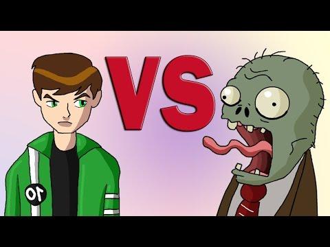 Ben 10 vs Plants vs Zombies Animated Parody