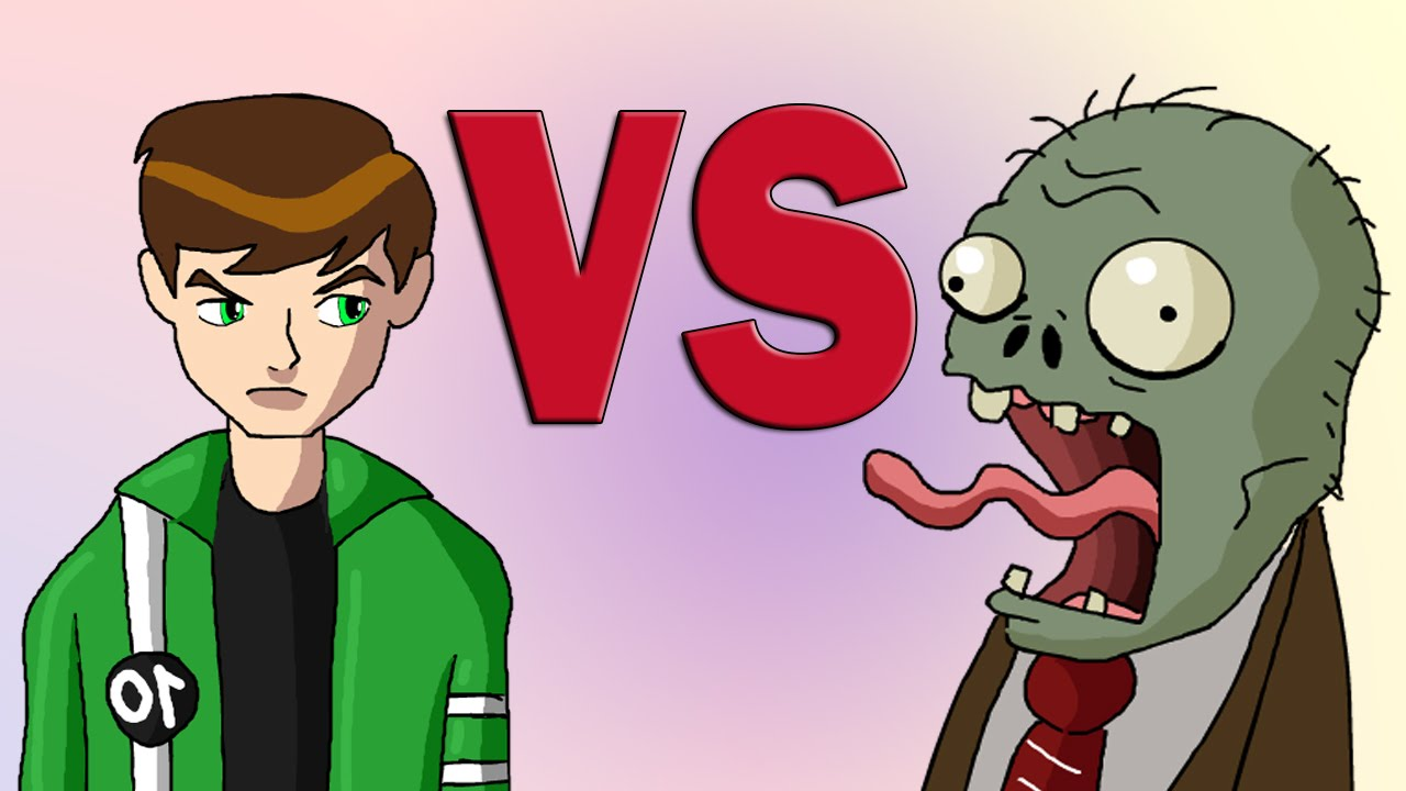 ben 10 vs plants vs zombies animated parody youtube