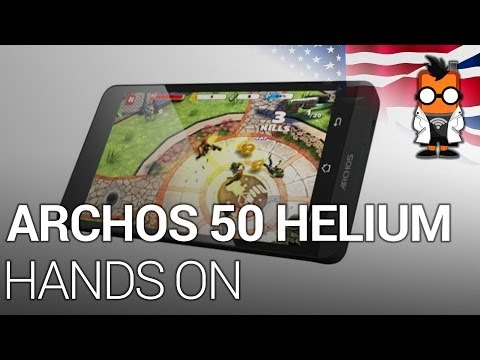 Archos 50 Helium Smartphone [ENG]