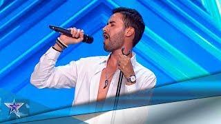 Sorprende con su VOZ… ¡y DESNUDÁNDOSE en el escenario | Audiciones 2 | Got Talent España 5 (2019)