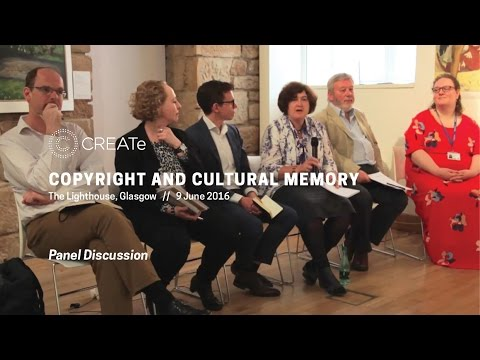 CaCM Panelist Responses [Copyright and Cultural Memory 2016]