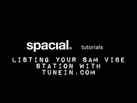 List you SAM VIBE Radio Station with TuneIn.com