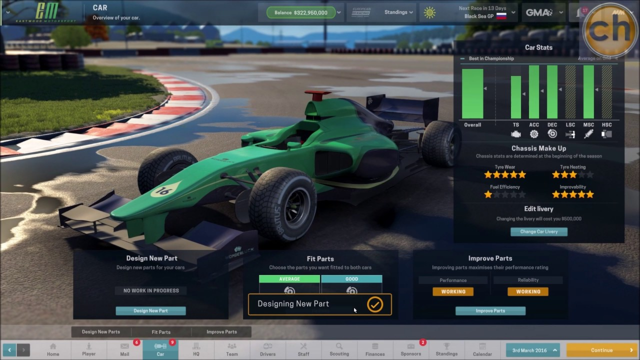 Motorsport Manager Cheats >> Motorsport Manager Trainer Youtube