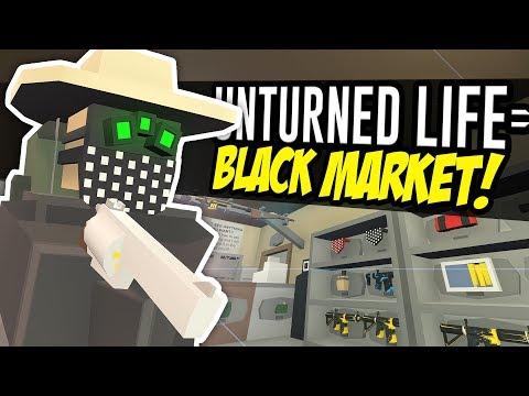 BLACK MARKET - Unturned Life Roleplay #147 thumbnail