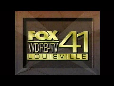 WDRB FOX 41 Louisville KY Sign Off (1996)