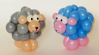 Овечка или барашек из шаров / lamb of balloons (Subtitles)
