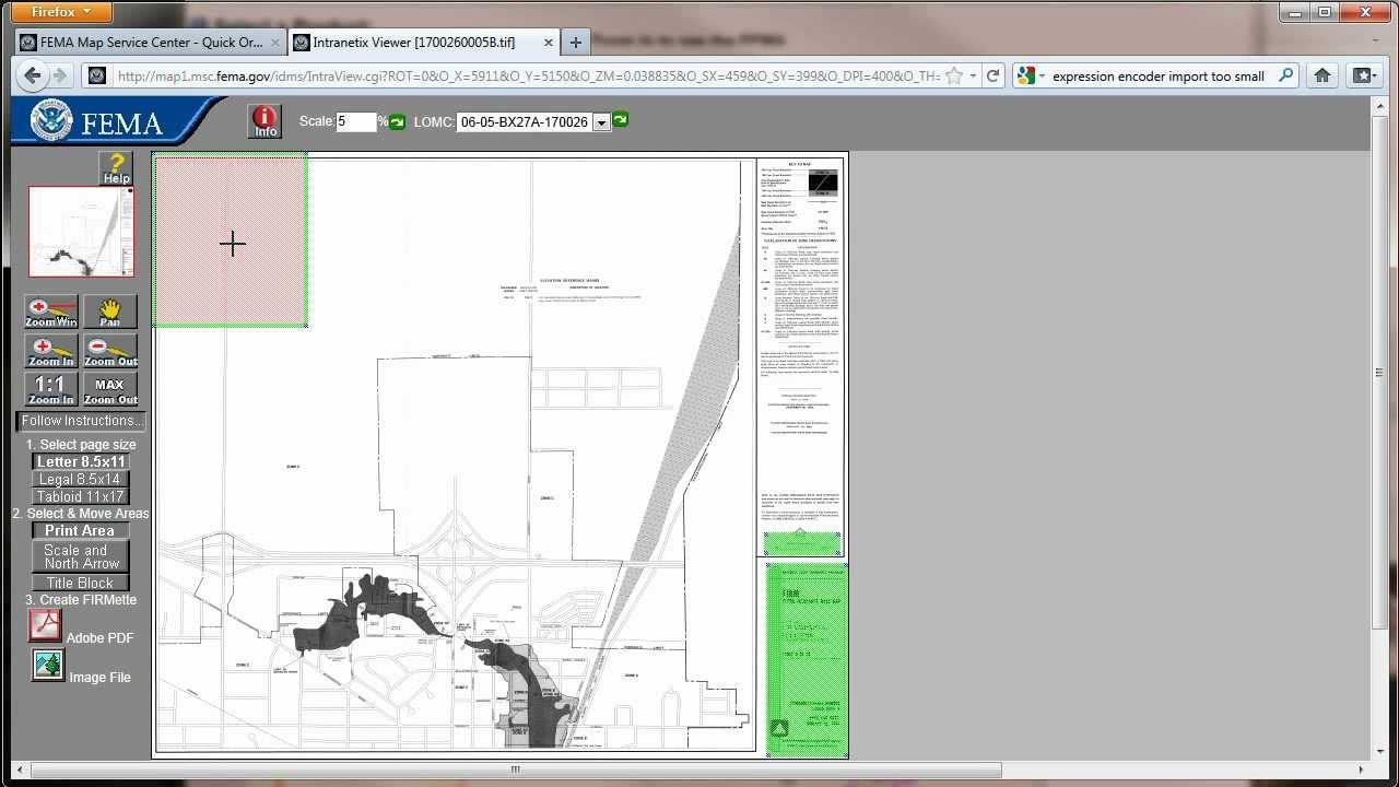 Making A Firmette YouTube - Firmette map