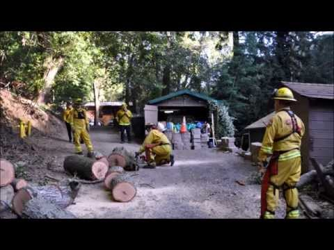 CAL FIRE TO THE RESCUE in Sunol