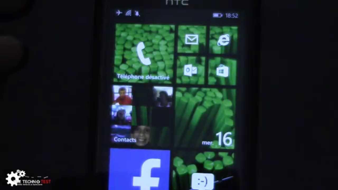 Htc windows phone 8x le est pictures - Windows Phone 8 1 On Htc 8x Tour Des Fonctionnalit S