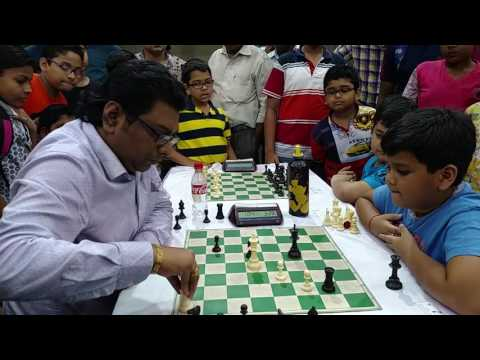 Niladri Shekhar Bhattacharya Snatches A Win Against Aditya Bikram Paul