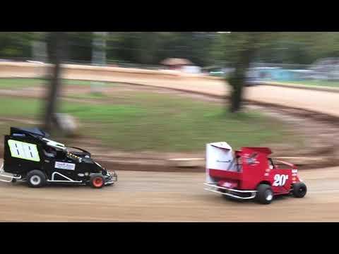Shellhammers Speedway Senior Slinghot Heat Race -- 9-22-2018