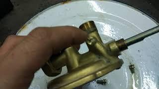 Доработка водяного узла газовой колонки под отопление.