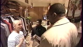 Teodorin fils du prèsident africain Obiang nguema(Guinèe èquatoriale) shopping à Paris