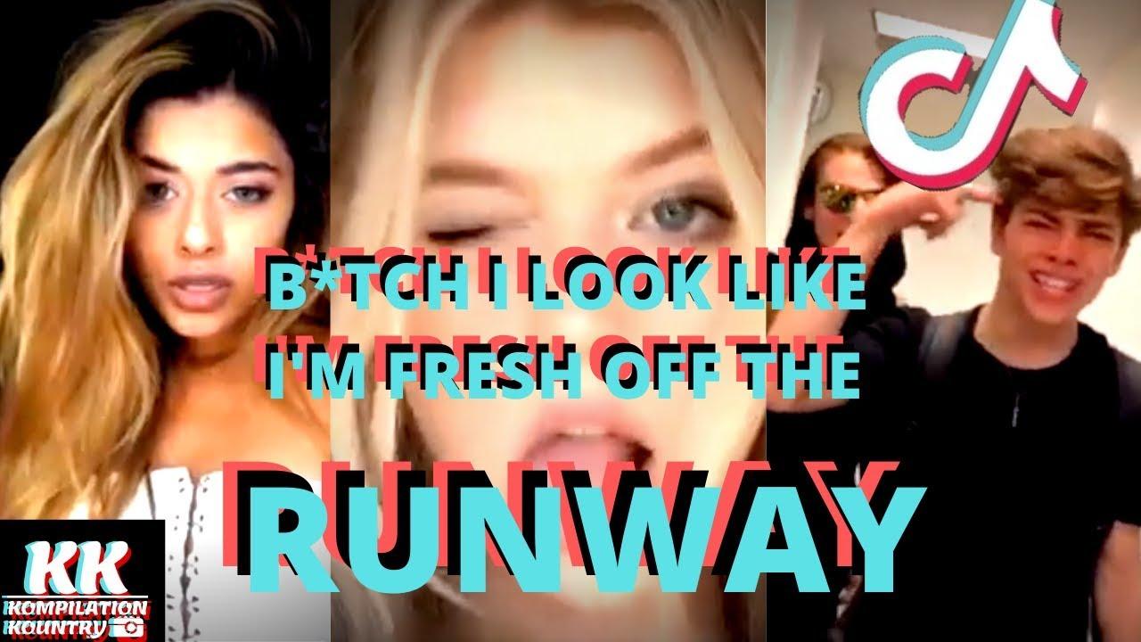 Download B*TCH I LOOK LIKE I'M FRESH OFF THE RUNWAY   Runway Challenge Stunna Girl   Tik Tok Compilation