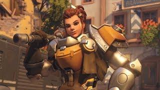 THE NEW HERO! | Brigitte Gameplay PTR  | Overwatch Gameplay - PC