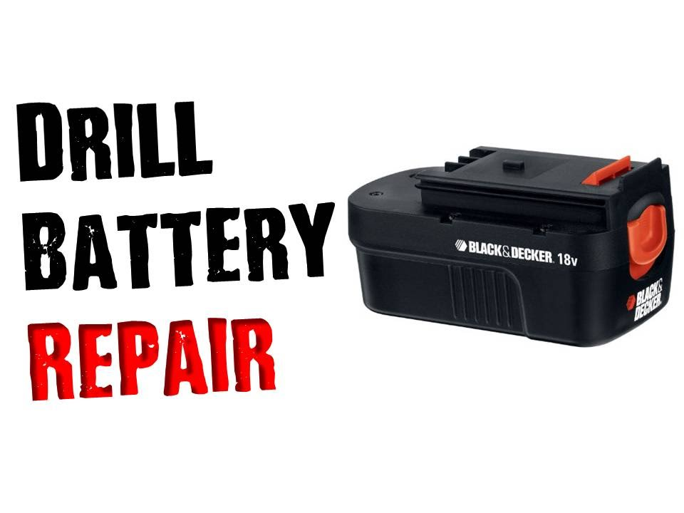 Storslået Fix a Dead Drill Battery That Wont Charge- Don't Throw it Away PR57