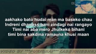 B 8Eight Aakhako Bato Full Lyrics Video HD By Ashish Puri