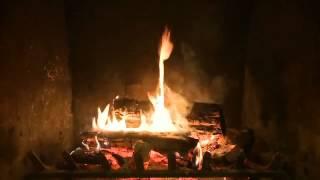 Fireplace. Звуки огня в камине. Релакс. Поговорим. 2015 HD