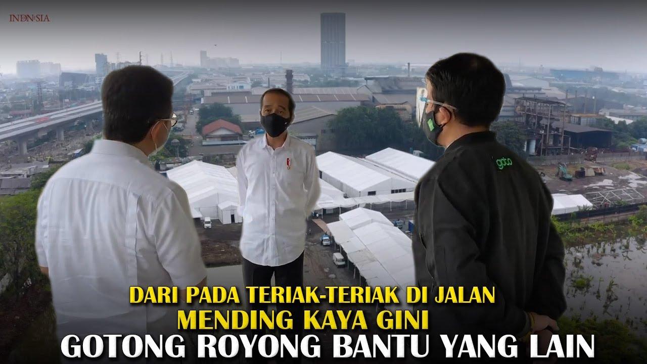 PATUT DICONTOH! Harusnya Gotong Royong Gini, Bukannya Anu, Pak Jokowi Sangat Mengapresiasi