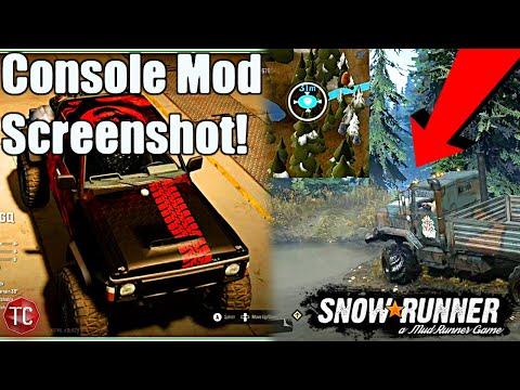 SnowRunner: NEW CONSOLE MODS SCREENSHOT!! & ANK MK38 TUNED CUSTOM Suspension LOCATION!