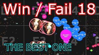 Agar.io - Win/Fail Compilation #18   MY BEST WIN / FAIL   Marl