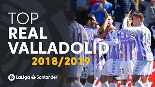 TOP Goles Real Valladolid LaLiga Santander 2018/2019