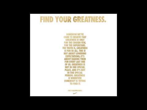 Nike - Find Your Greatness (Soundtrack)