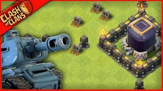 SUPER-TANK ARMY ROLLS OVER Clash of Clans!