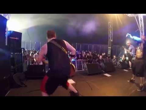 Spirytus full set from Bloodstock 2015 on stage camera
