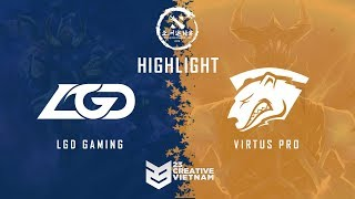 Highlight DAC 2018 | LGD Gaming vs Virtus Pro - Bo3 | Lower Bracket Finals
