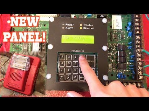 BOSCH D7024 Fire Alarm Control Panel Demonstration/Test