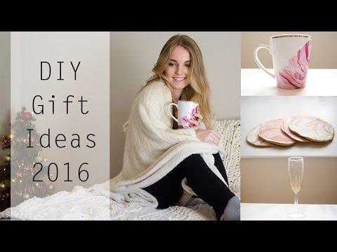 DIY Gift Ideas 2015 || Mug, Coasters & Champagne Glass
