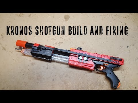 Kronos Shotgun Build and Firing Demo