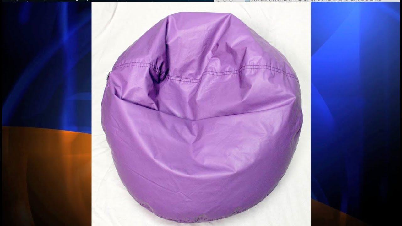 Ace Bayou Recalls Bean Bag Chairs After 2 Kids Suffocate