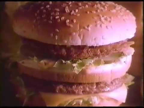 1986 McDonald's Big Mac Commercial thumbnail