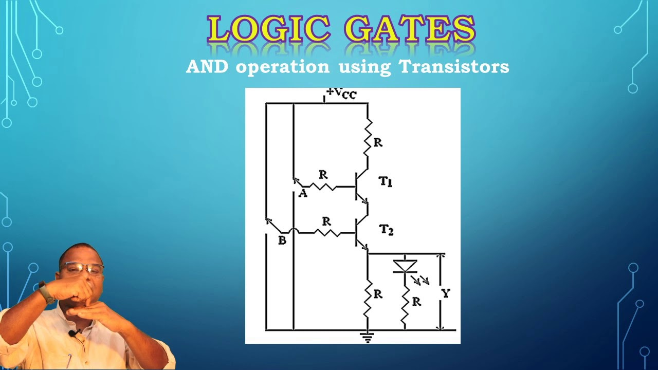 Two Bit And Gate Using Diodes And Transistors  Ic 7408 Pin